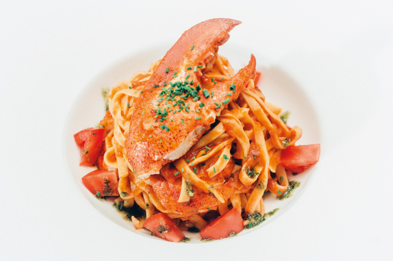 Homemade Tagliolini with Maine Lobster